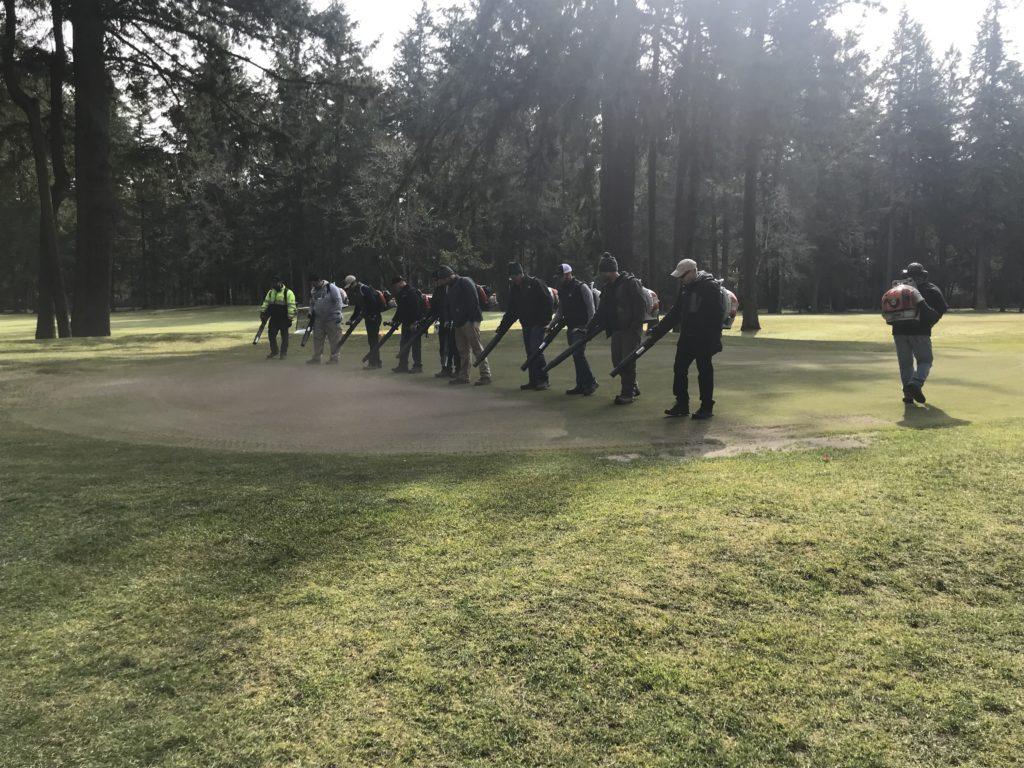 OGCSA | WWGCSA Joint Service Project | OGCSA Golf Course